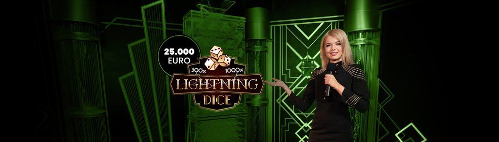 Bets10'da Yeni Oyun Lightning Dice'a 25.000 Euro Nakit Ödül